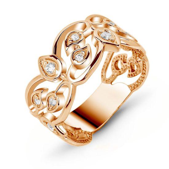 7edcca4932c Золотое кольцо с фианитом ФКз307 - купить недорого