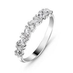 094d83891ba272 Срібні кільця - купити красиві, стильні й незвичайні з пробою ...